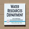 Water Resources Sign
